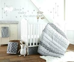white crib bedding sets baby grey crib set baby and white woodland animals 5 piece bedding