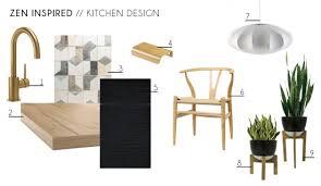 modern zen furniture. Zen Kitchen Accessories Furniture Minimal Wishbone Chair Indoor Plants Contemporary Modern Design Moodboard S