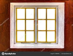 window frame with cut out windows to be used as template stock photo
