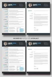 Free Ms Word Resume Templates Best Free MsWord Resume And CV Template Free Design Resources