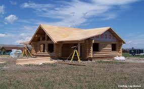 july 17th roof sheated log cabin right side wing