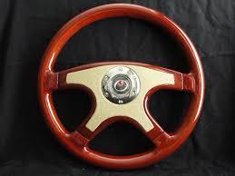 raptor steering wheels 15 wood tan front leather steering wheel silver or gold