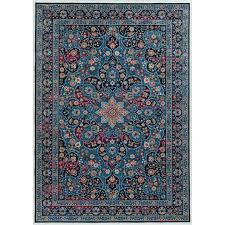 7 x 10 large multi color area rug emerald rc willey furniture multi color area