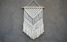 Macrame Wall Hanging Macrame Wall Hanging Medium Size Wall Decor Woven Wall Hanging
