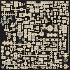 Warped Graph Paper Google Search Gaming Maps Dungeon Maps