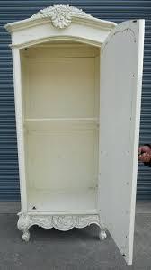 white armoire wardrobe bedroom furniture. White Wicker Armoire Wardrobe Large Clothing Bedroom Furniture Whites Painted Mirror H