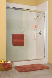 in conversion add a shower kit tub replacment with acrylic wall surrounds and framed gl bi p door
