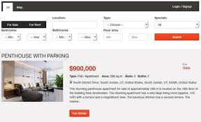 Listing Property For Rent Property Listing Script Php Real Estate Script Phpjabbers