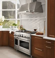 Hood Range Installation Monogram 48 All Gas Professional Range With 6 Burners And Griddle