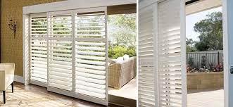 shutters for patio doors zebrablinds