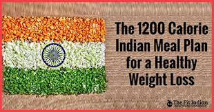 the 1200 calorie indian t plan for
