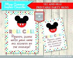 Mickey Mouse 1st Birthday Card Dimaz