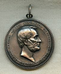 flying tiger antiques online store rare ny times abraham rare 1909 ny times abraham lincoln essay silver medal 1 of 1 000 awarded made