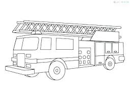 Free Printable Fire Truck Coloring Page Fire Truck Coloring Pages