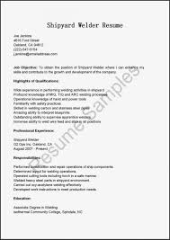 Resume Templates. Welding Resume Template: Getting Real Wordsmiths ...