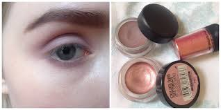 makeup tutorial image led wear pink eye shadow step 7 pink tonal look step 1 step one