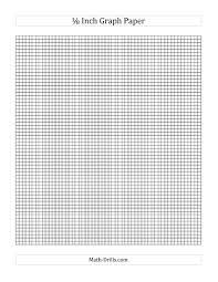 1 8 Inch Graph Paper A Math Drills Com I Love This