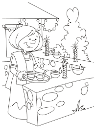 Small Picture Diwali Coloring Pages 5 Coloring Kids