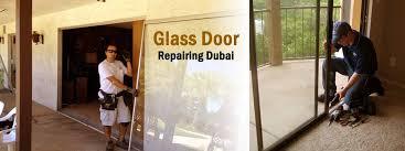 glass door repair in dubai