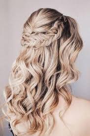 30 Timeless Bridal Hairstyles Svatební Dekorace Kudrnaté Vlasy