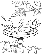 Spring Coloring Pages To Print For Children With Bees And Butterfly