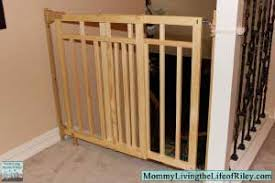 Summer Banister And Stair Wood Gate Installation - Photos Freezer ...