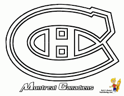 Small Picture Coloring Download Montreal Canadiens Coloring Pages Montreal