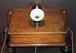 telephones uk telephones pre 1960 early wooden telephone · early wooden telephone
