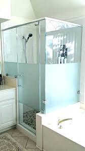 showers satin glass shower door best cleaner frosted cleaning inspired glas satin glass shower door
