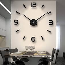 wall clocks modern house large diy clock design big decorative living room intended for 3