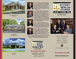 Law Firm Brochure Interesting McCravy Newlon Stukie Law Firm TriFold Brochure On Behance