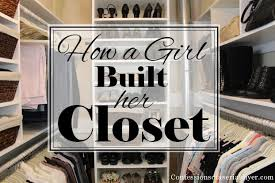 diy closet organization ideas on a budget. how to build a closet without breaking the bank diy organization ideas on budget