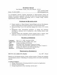Software Engineer Fresher Resume Sample Free Resume Example And