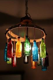 unique diy lighting. Bottle Lamp Unique Diy Lighting X