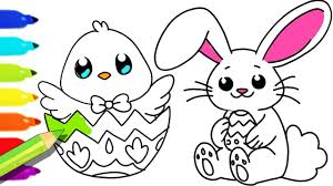 Frightening Easter Bunny Pages To Color Hello Kitty Coloring Page