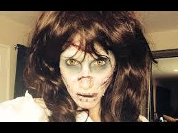 exorcist makeup tutorial linda blair regan special effects make up