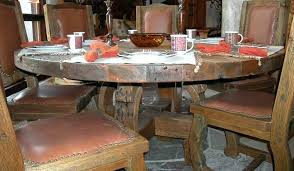 round dining table custom tables room chairs sets 56 inch