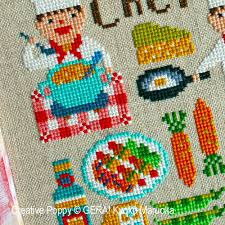 Cross Stitching Patterns Amazing Gera By Kyoko Maruoka Dear Chef Cross Stitch Pattern