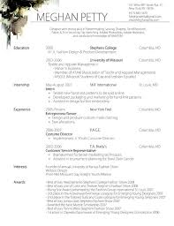 Fashion Resume Templates Enchanting Best Fashion Resume Templates 28 Best Fashion Resume Samples Images