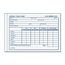 weekly time card amazon com rediform time card pad weekly manila 4 25 x 6 100