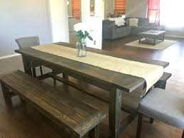 farm style table medium size of bench farm table and bench plans charming dining room table
