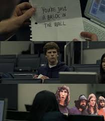 Zuckerberg and Pink Floyd by Denigirl on DeviantArt via Relatably.com
