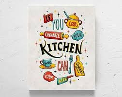 colorful kitchen art whimsical kitchen art fun kitchen art kitchen quote hand lettering fun kitchen wall decor happy kitchen on whimsical kitchen wall art with whimsical art decor etsy