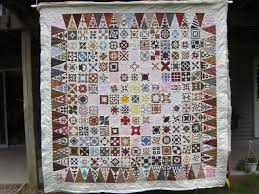 This is a reproduction of a Jane Stickle quilt often referred to ... & This is a reproduction of a Jane Stickle quilt often referred to as a Dear  Jane Adamdwight.com