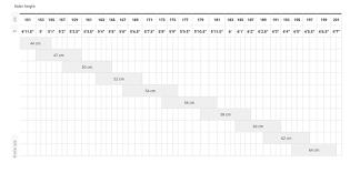 Trek Womens Size Chart 65 Explanatory Trek Domane Size Chart