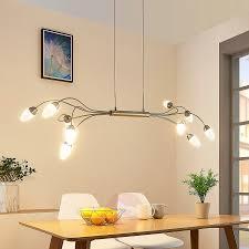 Led Plafondlamp Deyan Dimbaar 10 Lampen