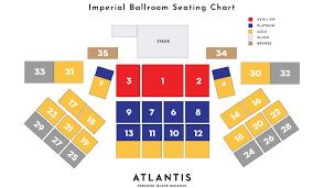 Paradise Cove Seating Chart Jonas Brothers At Atlantis