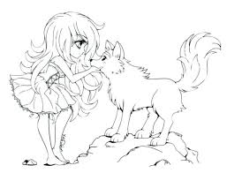 Minecraft Coloring Pages Wolf Of Wolves Howling Cute Pack Anime An