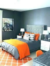 orange and grey bedding gray expert livingston comforter set
