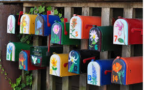 painted mailbox designs.  Painted Ron  In Painted Mailbox Designs F